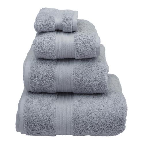 dove grey luxury towels