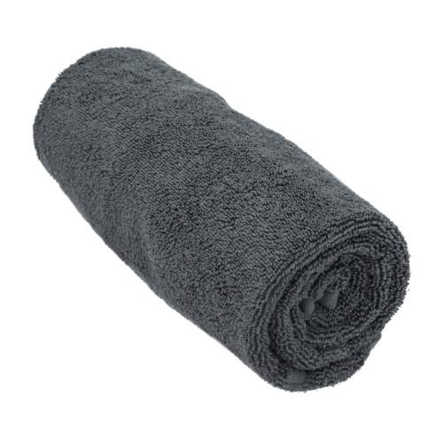 steel grey gold bath mat