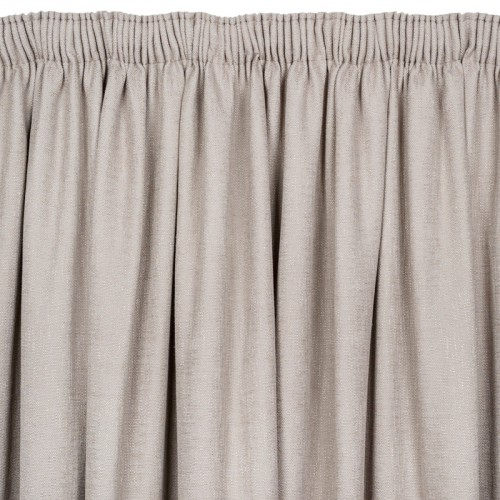 taped heavy linen taupe